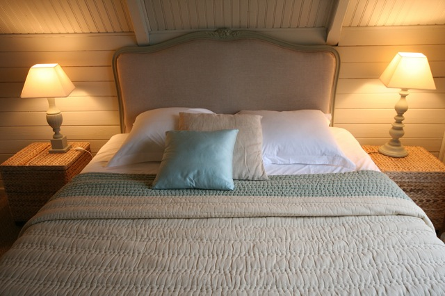 A comfortable double bed